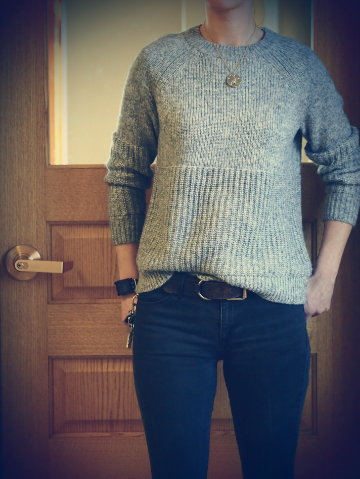 banaba republic high low sweater