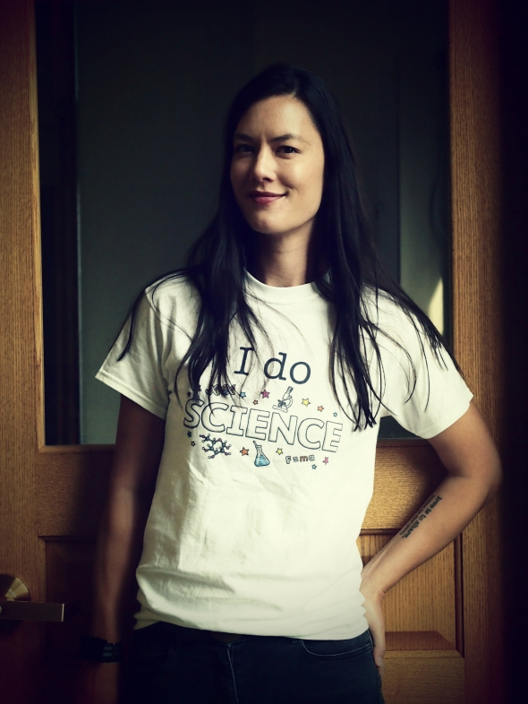 i do science tshirt