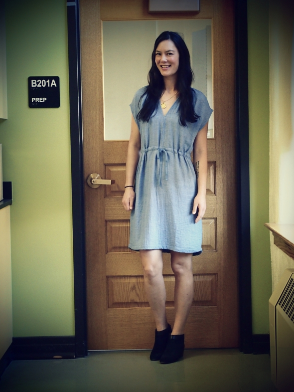 anthropologie-blue-dress