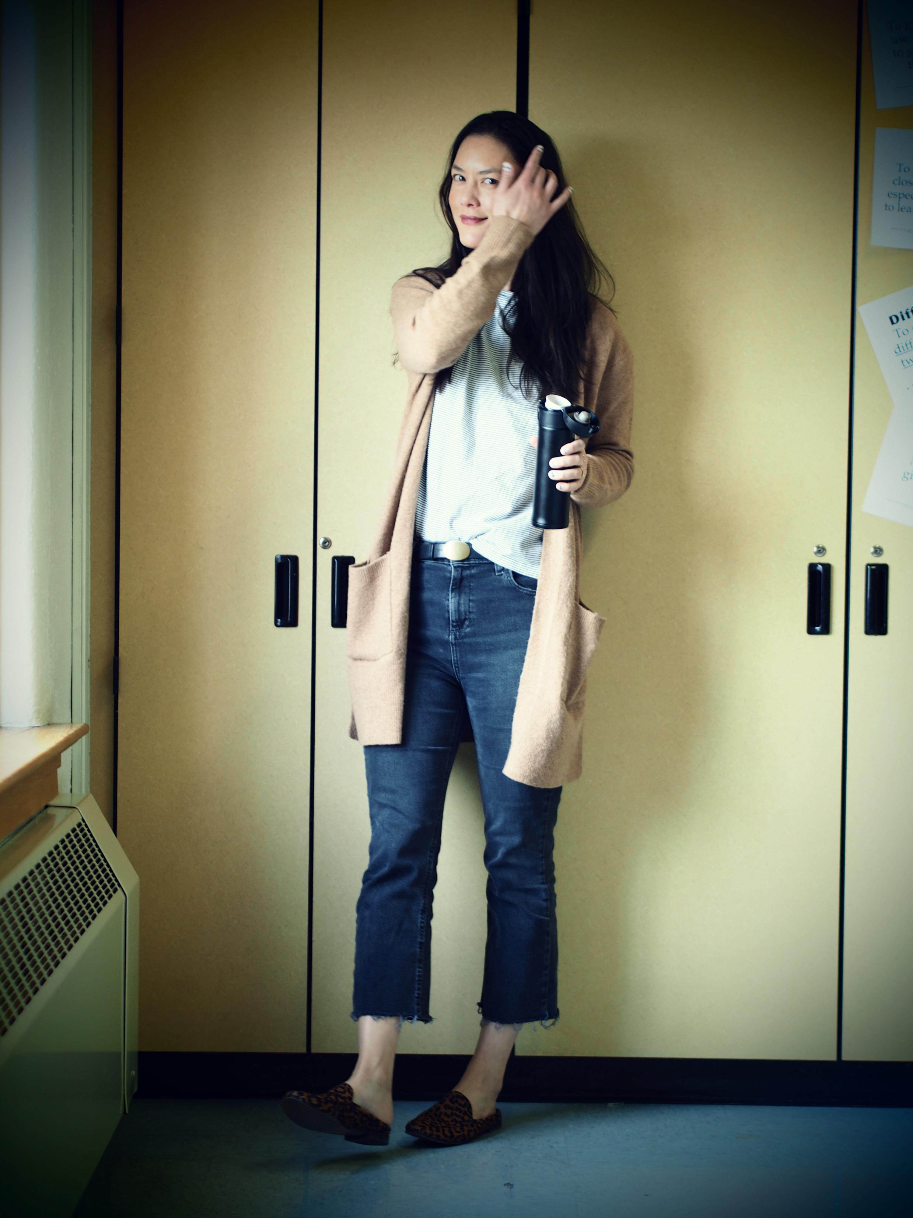 THLT BDG kick flare jeans
